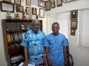 A VISIT TO SIR IFEANYI ATUEYI (ACHIEVERS FORUM)