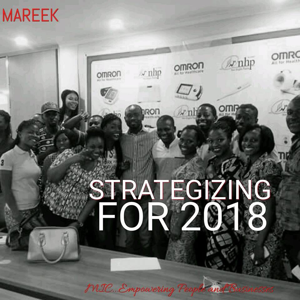 STRATEGISING FOR 2018