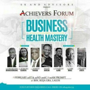 BUSINESS AND HEALTH MASTERY