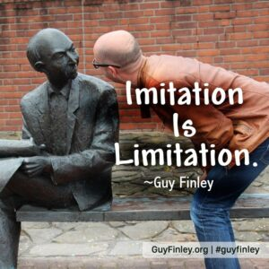 IMITATION IS LIMITATION