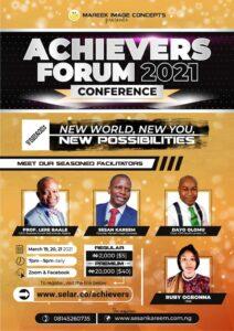 Achievers Forum 2021