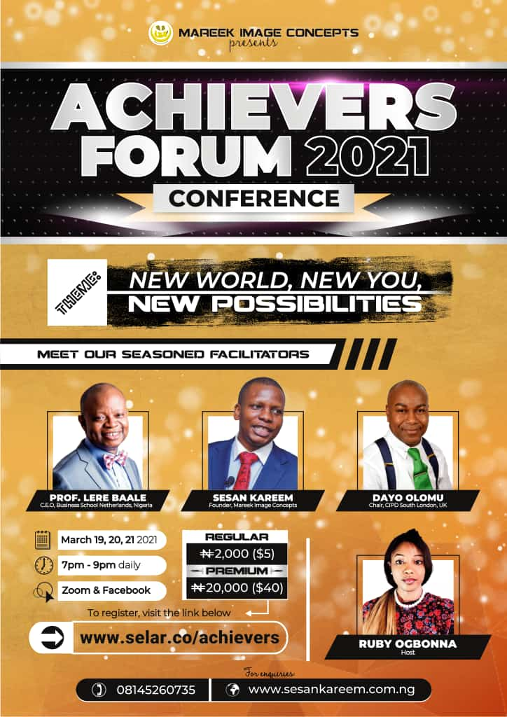 Achievers Forum 2021