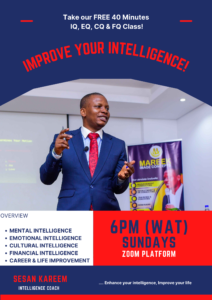 Read more about the article IMPROVE YOUR INTELLIGENCE | TAKE OUR FREE CLASS